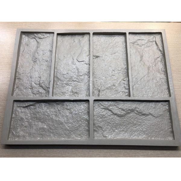 Полиуретановая форма для декоративного камня Шинон F240D