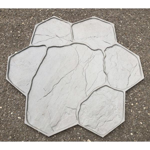 Штамп для печатного бетона Рваный камень F3011В